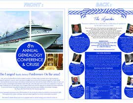 #39 para Brochure Design for Annual Conference and Cruise por PinzLedesign