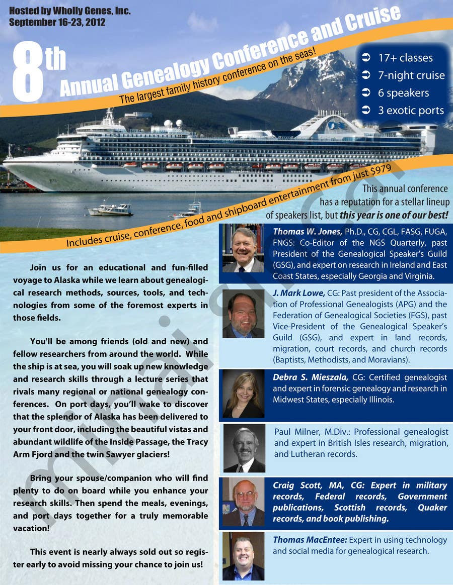 Bài tham dự cuộc thi #                                        40                                      cho                                         Brochure Design for Annual Conference and Cruise