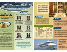 #47 para Brochure Design for Annual Conference and Cruise por smarttaste
