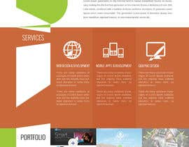 #87 for Design a Website Mockup for a web development company af suryabeniwal