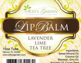 #31 for Lip Balm Label Design by eliespinas