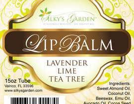 nº 31 pour Lip Balm Label Design par eliespinas