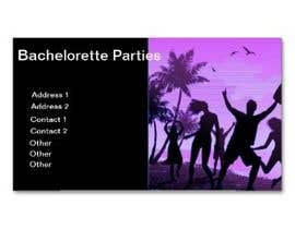 #45 para Design some Business Cards for my business running bachelorette parties por diptisamant84