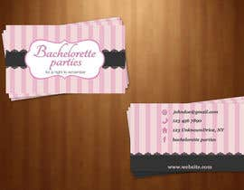 #20 para Design some Business Cards for my business running bachelorette parties por KateTopuzovska