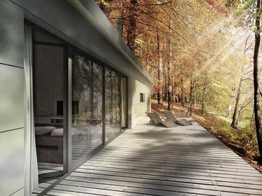 #3 for Riverfront Residence Render by shotbyimage