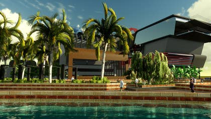 #13 for Riverfront Residence Render by MarcooooAdel