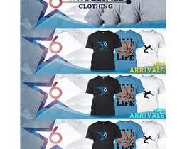 Nro 18 kilpailuun Design 2 Banner for Clothing store käyttäjältä wtrinidad