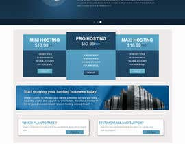 #3 untuk Build a Website Mock up for a web hosting company oleh sirajthapa18