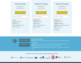 #4 untuk Build a Website Mock up for a web hosting company oleh avashpdl