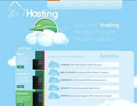 #5 untuk Build a Website Mock up for a web hosting company oleh samievolution