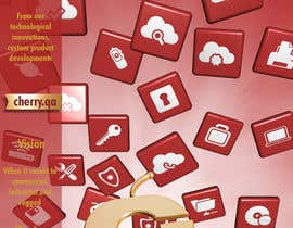 #58 para Brochure Design for Cherry Computers Co. W.L.L. por DirtyMiceDesign