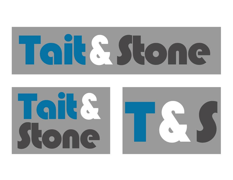 "Konkurrenceindlæg #80 for Design a Logo for ""Tait & Stone Ltd"""