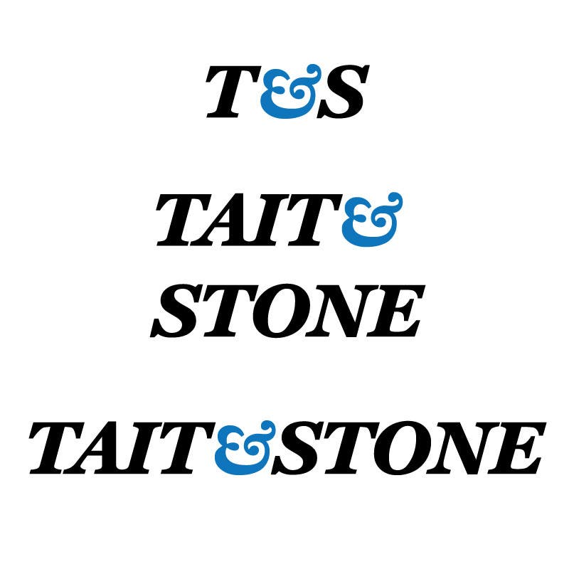 "Konkurrenceindlæg #349 for Design a Logo for ""Tait & Stone Ltd"""