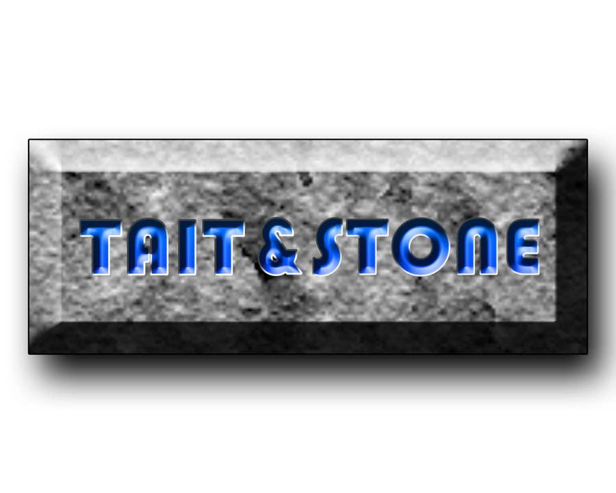 "Konkurrenceindlæg #77 for Design a Logo for ""Tait & Stone Ltd"""