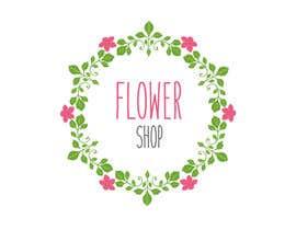Nro 45 kilpailuun Flower shop logo -- 1 käyttäjältä MOU0