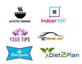 bp2287 tarafından 5 logos for 5 different domains/websites için no 12