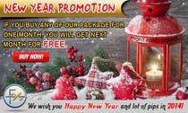 Contest Entry #53 for Design a Banner for New Year Promotion