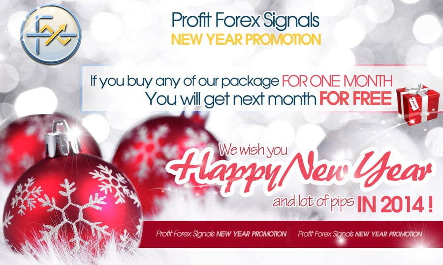 #51 for Design a Banner for New Year Promotion by RERTHUSI