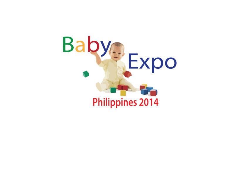 Inscrição nº 3 do Concurso para Design a Logo for Kids Expo, Parent Expo and Baby Expo Philippines 2014