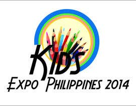 #6 for Design a Logo for Kids Expo, Parent Expo and Baby Expo Philippines 2014 af iliemitrea