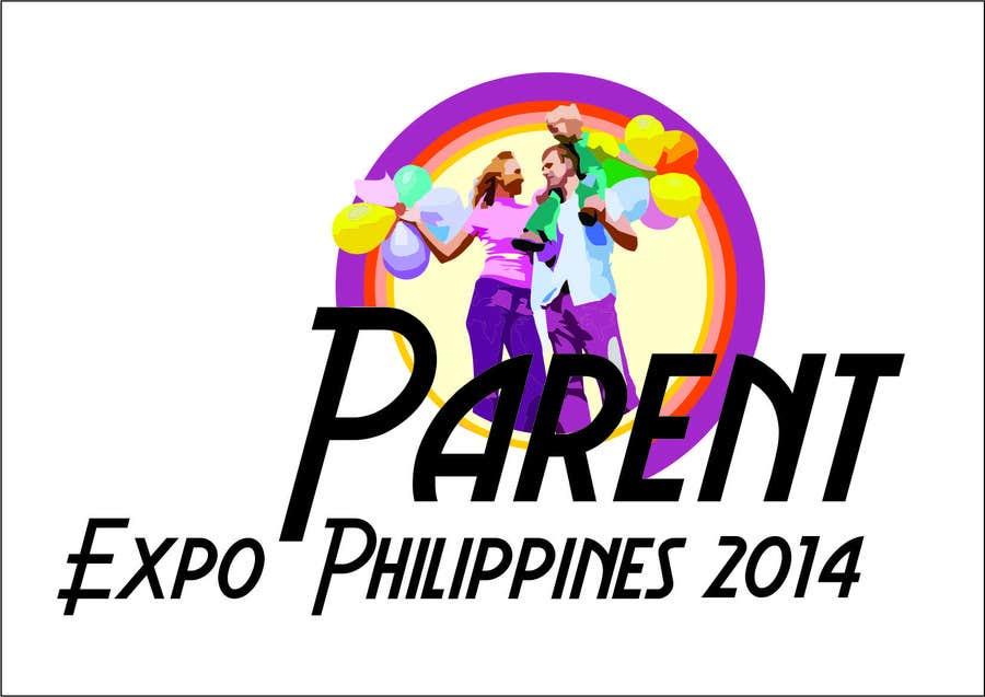 Inscrição nº 8 do Concurso para Design a Logo for Kids Expo, Parent Expo and Baby Expo Philippines 2014