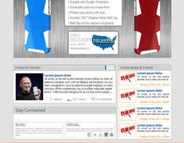 #27 for Design a Website Mockup for our Brand af sharpBD