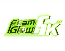 #67 para Design a Logo for Foam Glow 5K por SAbhijeet
