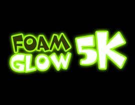 #51 para Design a Logo for Foam Glow 5K por LogoFreelancers