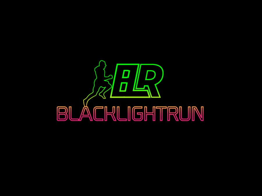 Konkurrenceindlæg #46 for Design a Logo for Blacklight Run