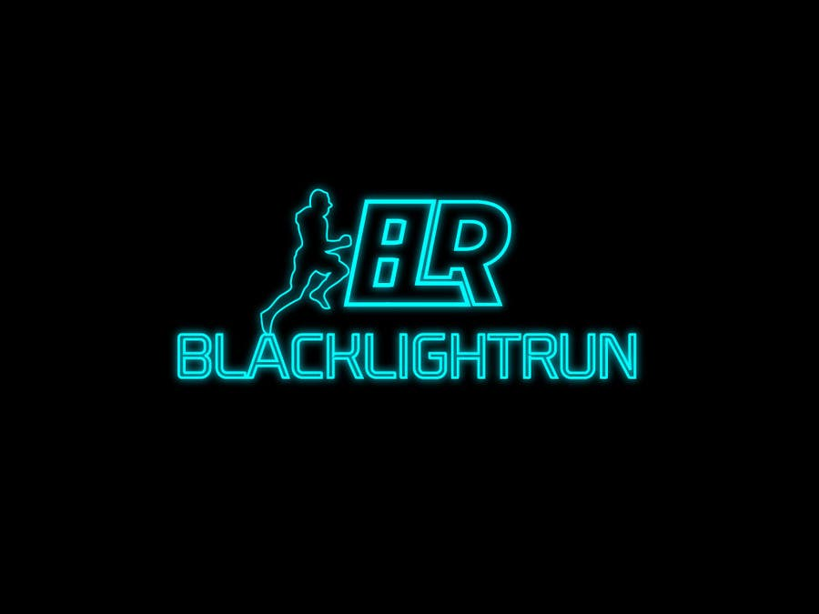 Konkurrenceindlæg #47 for Design a Logo for Blacklight Run