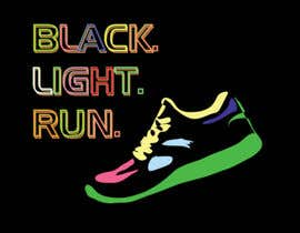 #1 untuk Design a Logo for Blacklight Run oleh Cindygerger