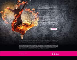 nº 9 pour Design website template based on style logo par gravitygraphics7