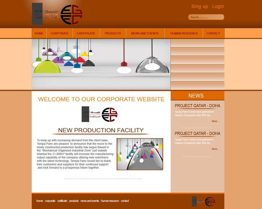 Bài tham dự cuộc thi #3 cho Design a Website Mockup for a company