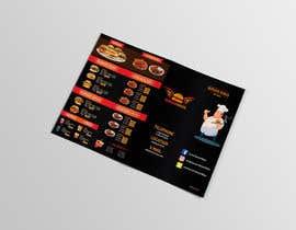 Nro 23 kilpailuun burger restaurant menu käyttäjältä aliyevart