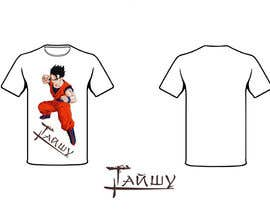 #9 para Разработка дизайна футболки for Тайшу por mishasvetenco