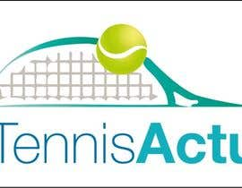 #15 cho Make a logo for TennisActu a new rebranding website about tennis bởi swethanagaraj