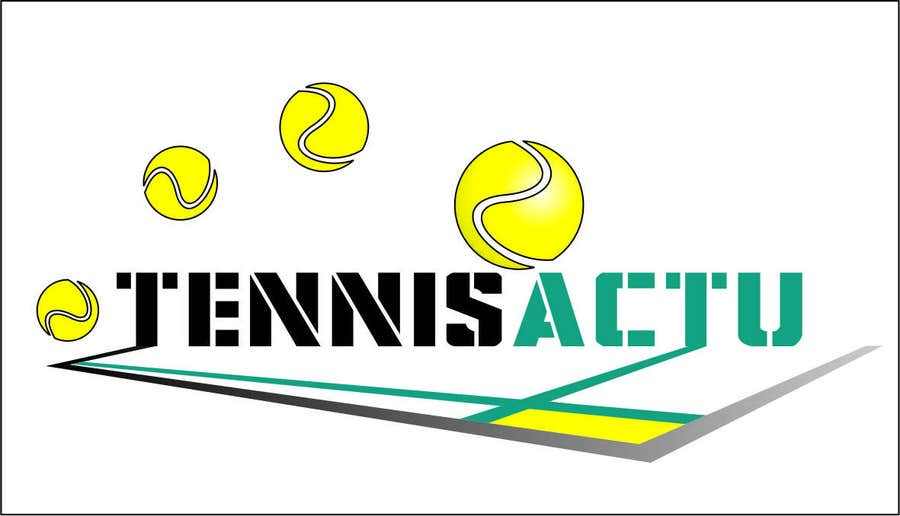 Proposition n°12 du concours Make a logo for TennisActu a new rebranding website about tennis