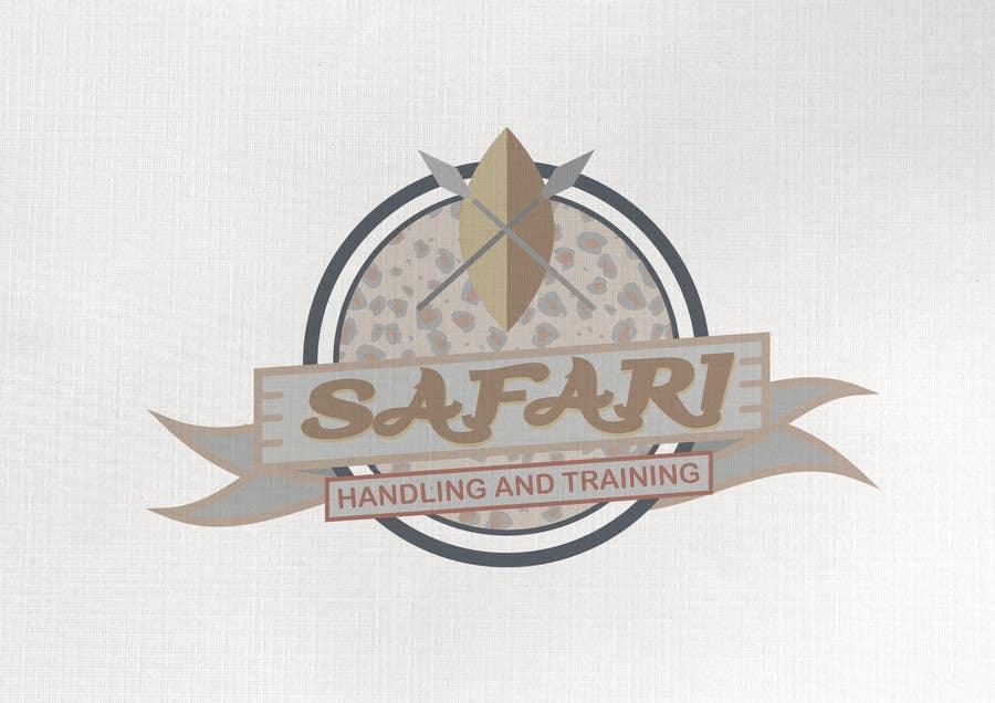 Kilpailutyö #26 kilpailussa Create a Vintage style logo for Safari theme Company