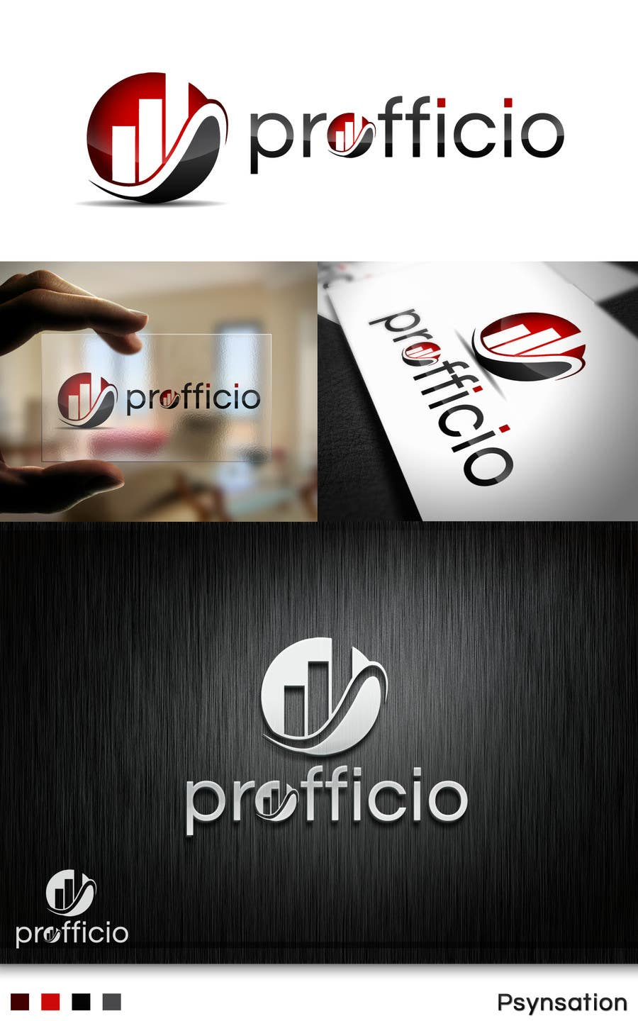 #40 for Design a Logo for Profficio by Psynsation
