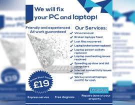 Nro 17 kilpailuun Design a Flyer For Computer / Phone Repair käyttäjältä NayeemaSiddiqua