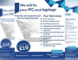 NayeemaSiddiqua tarafından Design a Flyer For Computer / Phone Repair için no 17