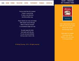 gravitygraphics7 tarafından Design a Website Mockup for Rhymes Website için no 3
