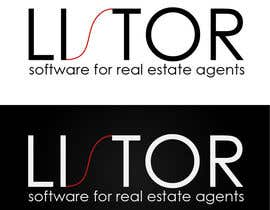 "#75 для Logo Design for A software program named ""LISTOR"" for real estate agents от andreea23"
