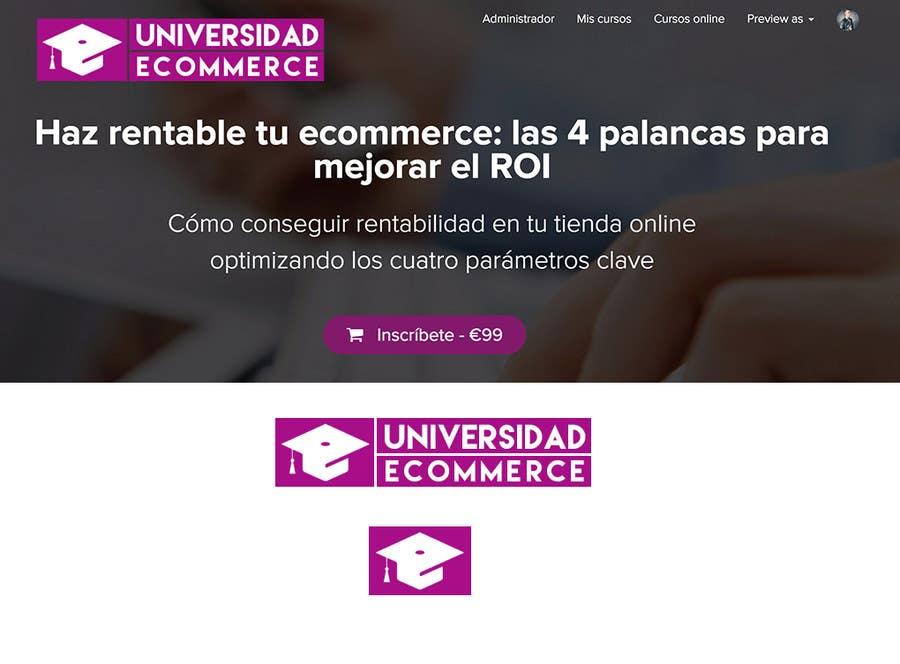 Penyertaan Peraduan #                                        34                                      untuk                                         Logo design for ecommerce university