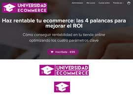 artsdesign84 tarafından Logo design for ecommerce university için no 34