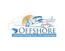 #13 untuk Design a Logo for Offshore Fishing Charters oleh sravancreations