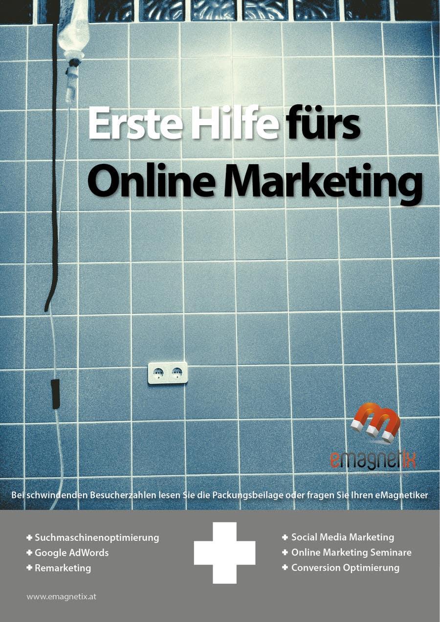 """Inscrição nº 5 do Concurso para Kreatives Buchcover für """"Erste Hilfe fürs Online Marketing"""" gesucht"""
