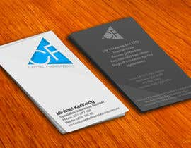 #16 cho Design Business Cards and a logo for Capital Foundations an insurance advice business bởi amitpadal