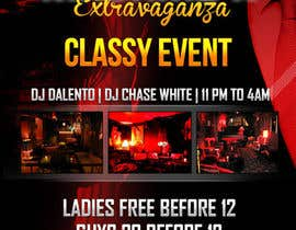 nº 3 pour Design a Flyer for CLASSY LOUNGE PARTY par RuslanDrake