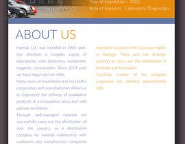 Nro 37 kilpailuun Design Business Corporate Profile Brochure käyttäjältä nuwantha2020